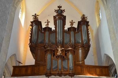 Buffet de l'orgue de Vézelise
